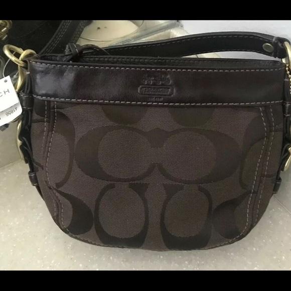 Coach Handbags - Coach Zoe mini bag - NWT
